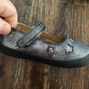 Silver Star Mary Jane Sneaker